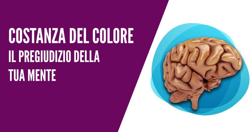 Costanza del colore – il pregiudizio della tua mente